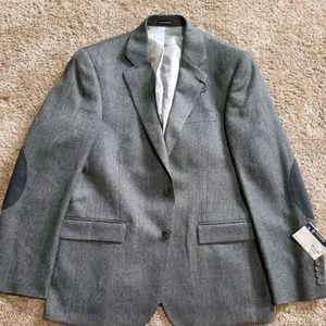 Other - Dark grey heathered stafford suit separate sport c